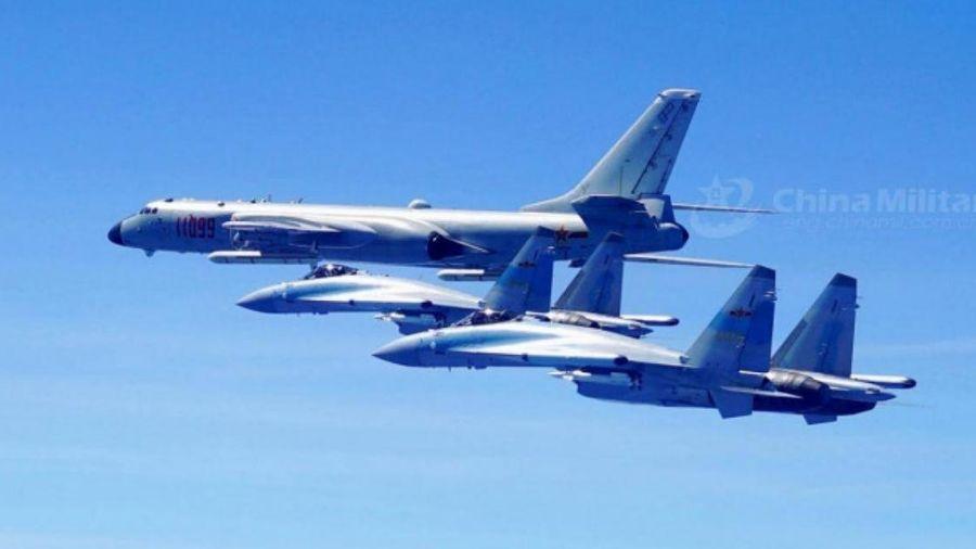 Thời báo Hoàn cầu đe dọa: Chiến cơ sẽ đáp hẳn xuống Đài Loan nếu còn cậy Mỹ