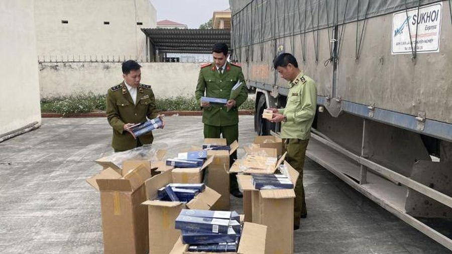 Bắt xe tải chở 4500 bao thuốc lá lậu tại Thanh Hóa