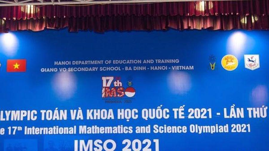 Học sinh Hà Nội đạt 20 huy chương kỳ thi Olympic Toán và Khoa học quốc tế 2021