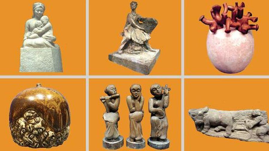 Triển lãm 36 tác phẩm điêu khắc mừng Đảng, mừng Xuân