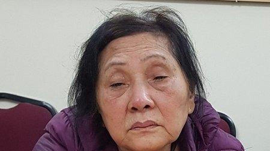 Bắt giữ cụ bà 74 tuổi gây ra hàng loạt vụ trộm cắp ở Hải Phòng