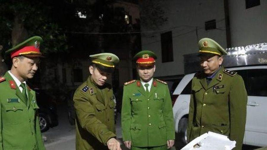 Lạng Sơn: Chặn đứng hơn 2 tấn nầm lợn nhập lậu