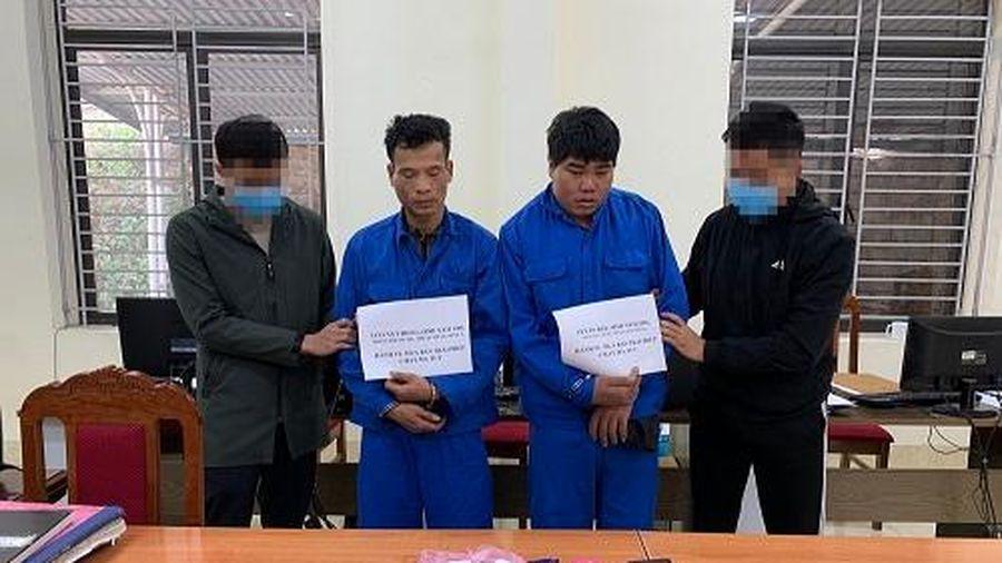 Sơn La: Công an huyện Sông Mã bắt giữ 2 đối tượng mua bán trái phép chất ma túy