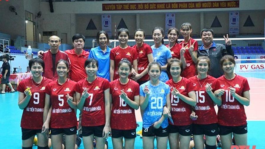 Đội bóng chuyền nữ Hải Tiến Thanh Hóa tham gia Cúp Hoa Lư 2021