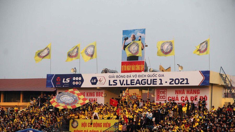 Tiếp tục miễn phí vào sân trận Đông Á Thanh Hóa - Nam Định ở vòng 3 LS V.League 2021