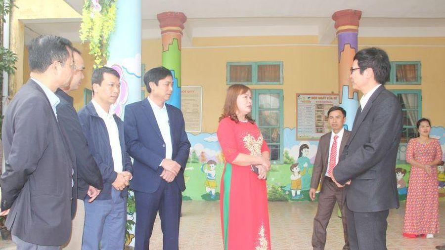 Thẩm định các xã Tiến Lộc và Triệu Lộc đạt chuẩn Nông thôn mới