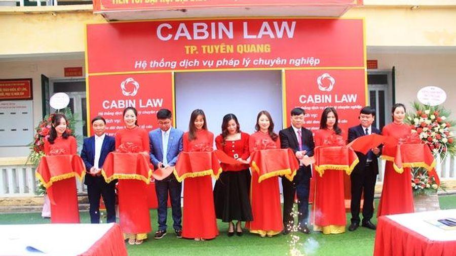 Khai trương Văn phòng đại diện Cabin Law TP Tuyên Quang