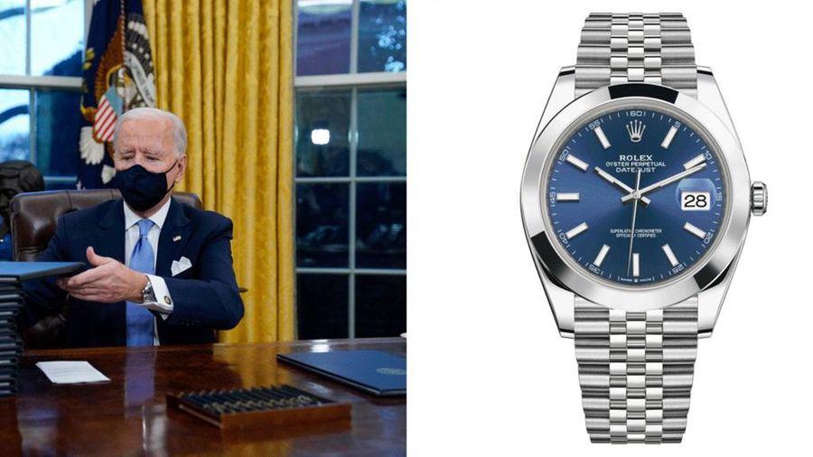 Câu chuyện nhìn từ chiếc đồng hồ Rolex nghìn 'đô' của Tổng thống Biden
