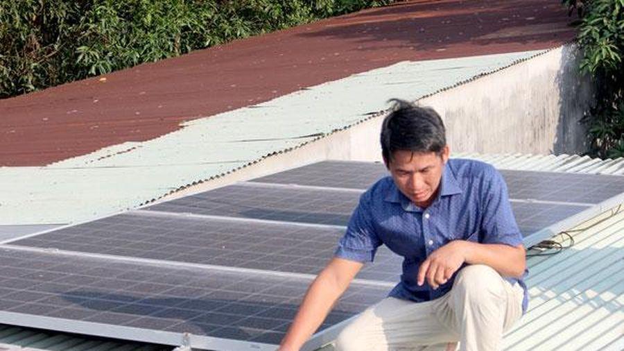 Phát triển điện mặt trời mái nhà đạt gần 1.475%