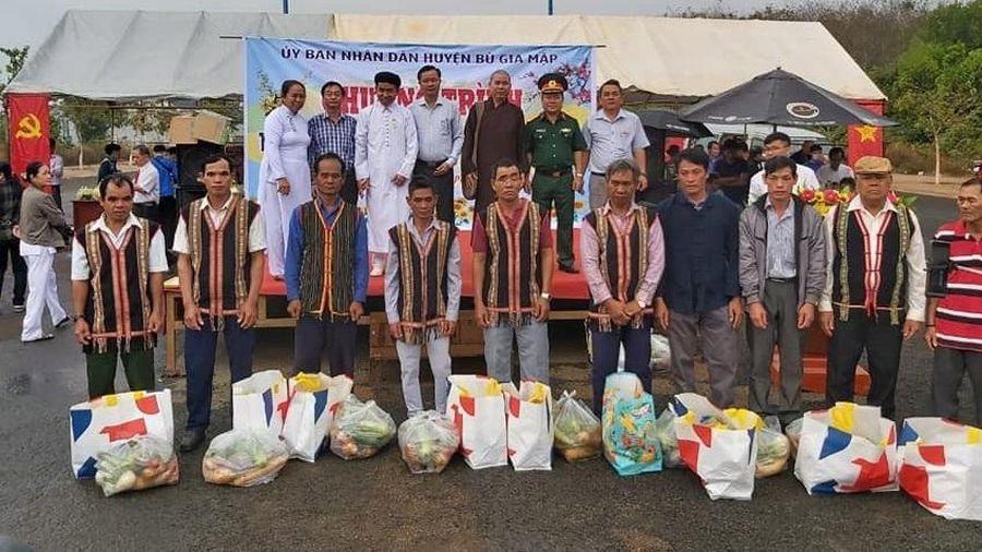 Bình Phước: Phật giáo phối hợp tổ chức chợ Tết 0 đồng