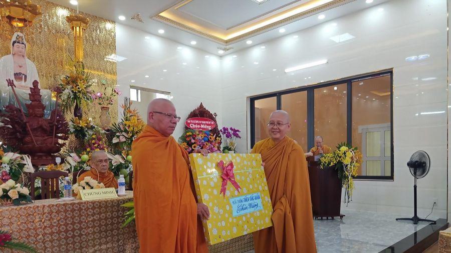 Tiền Giang: Khánh thành tịnh xá Ngọc Luật
