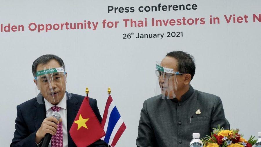 Quảng bá cơ hội của nhà đầu tư Thái Lan vào Việt Nam