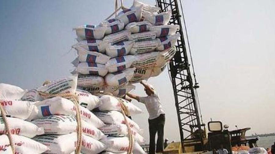 3,8 triệu tấn phân bón được nhập khẩu về Việt Nam trong năm 2020