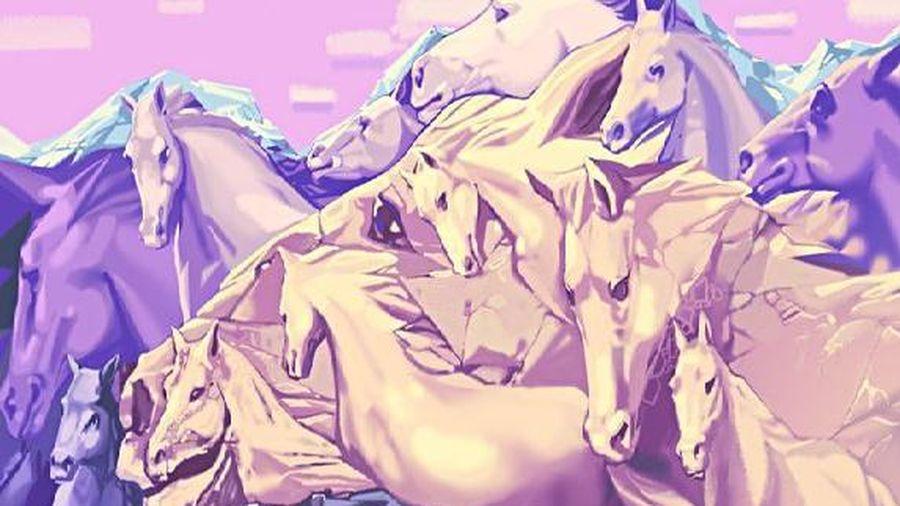Trắc nghiệm vui đoán tính cách: Bạn đếm được bao nhiêu con ngựa?