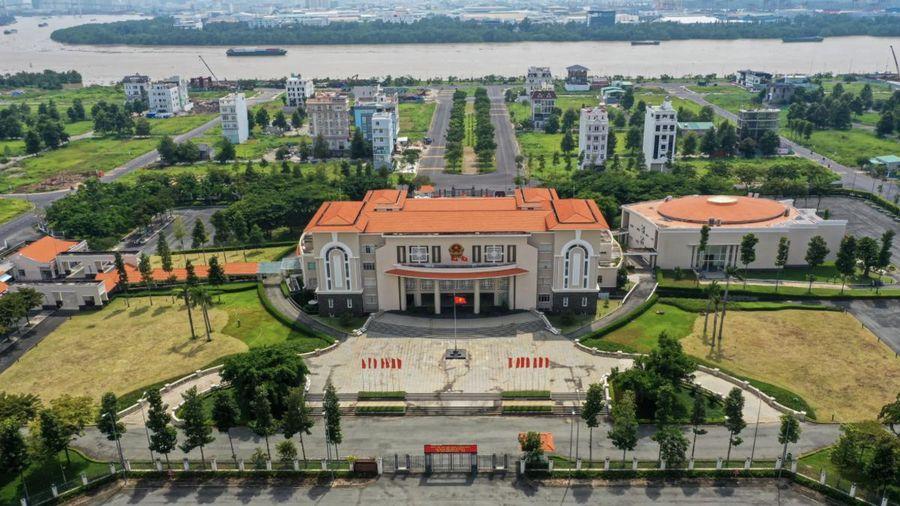 Trụ sở UBND TP Thủ Đức được đặt ở đâu?