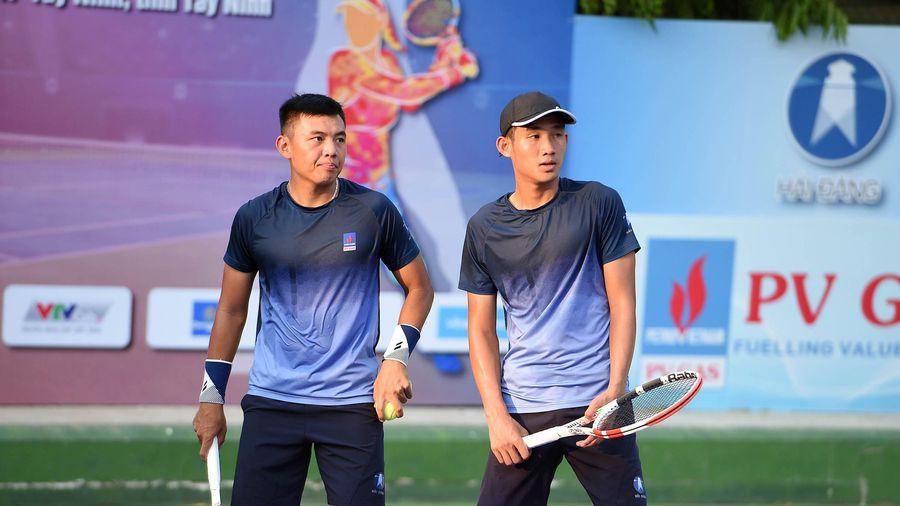 VTF Masters 500 - 2: Lý Hoàng Nam và Lê Quốc Khánh vào tứ kết