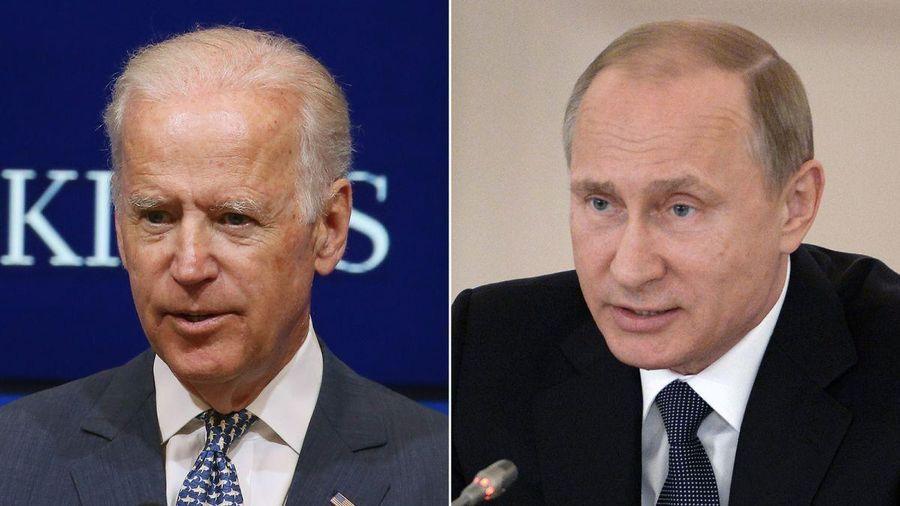 Tổng thống Joe Biden lần đầu điện đàm với ông Putin