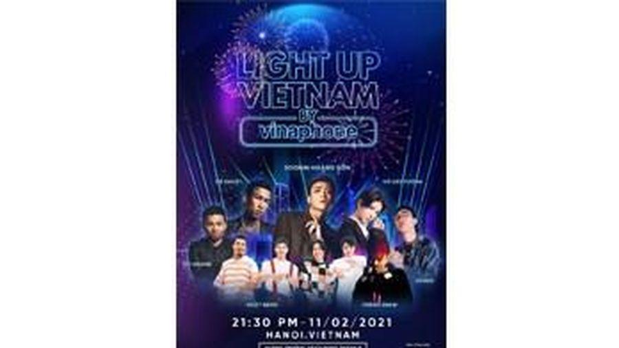 Đại nhạc hội 4D mapping và ánh sáng lần đầu tiên được tổ chức đêm giao thừa