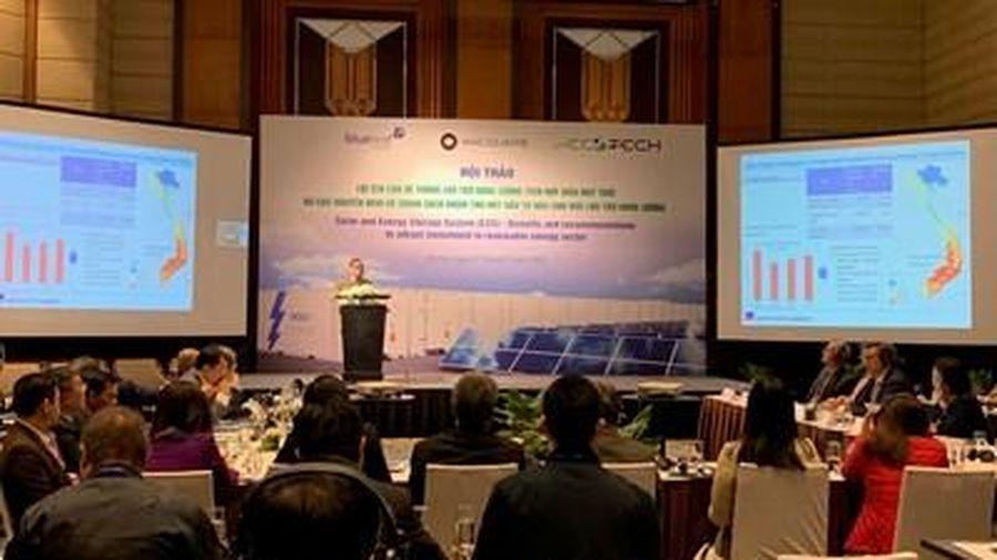 Thúc đẩy hệ thống lưu trữ năng lượng tích hợp điện mặt trời
