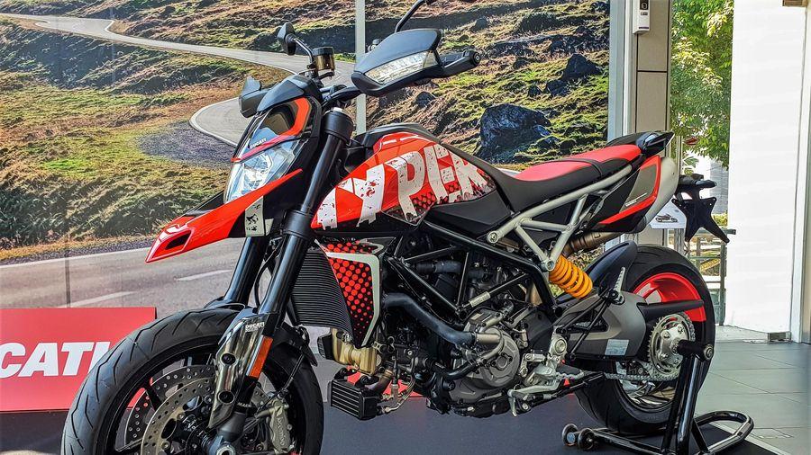 Ducati Hypermotard 950 RVE được ra mắt tại Malaysia