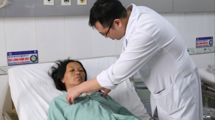Cứu người phụ nữ mắc bệnh tim nghiêm trọng