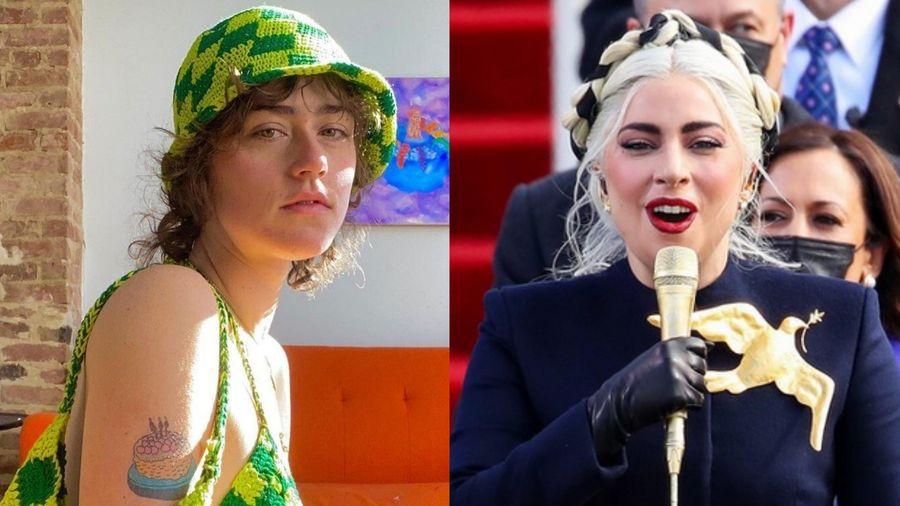 Cô gái đẹp lấn át Lady Gaga