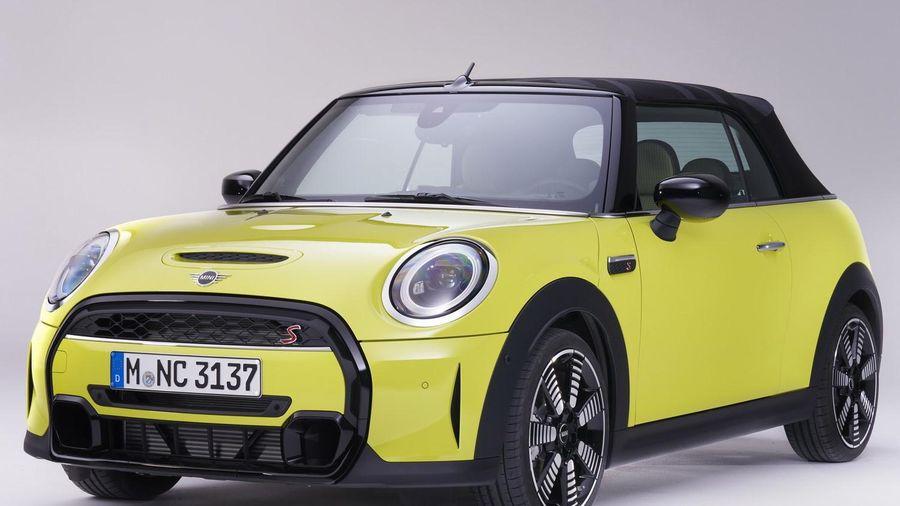 Mini Convertible đời 2022 được ra mắt, giá từ 22.900 USD