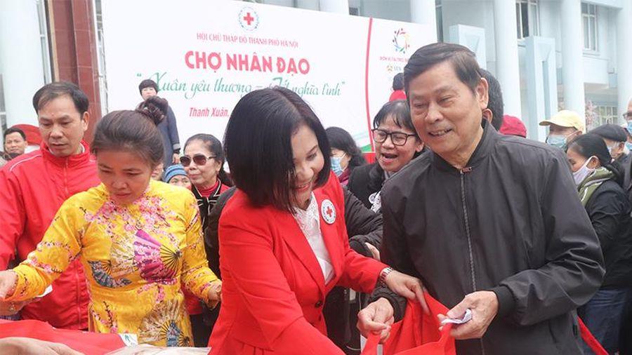 Hơn 320 người dân tham gia 'Chợ Tết nhân đạo - Tết ấm yêu thương'