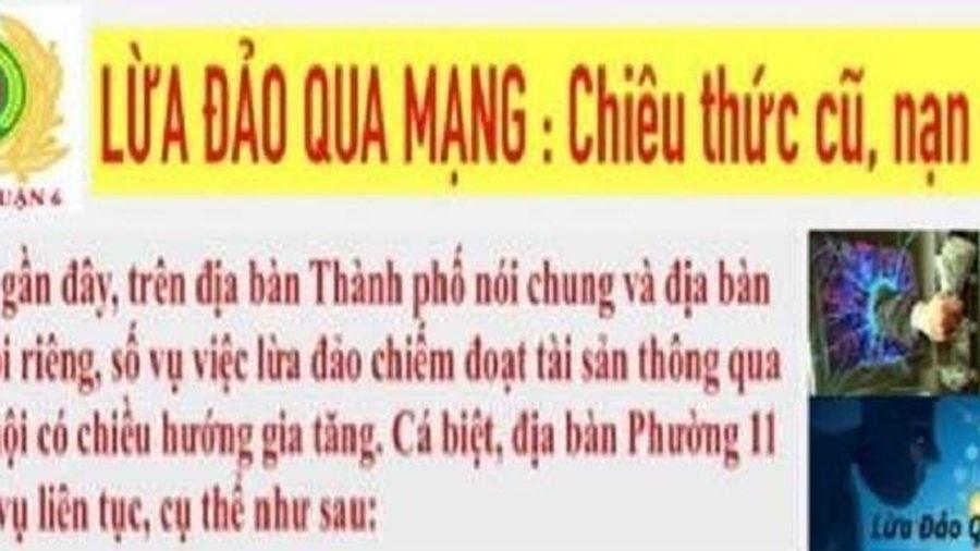 Công an TP Hồ Chí Minh truy tìm đối tượng lừa đảo bằng công nghệ thông tin