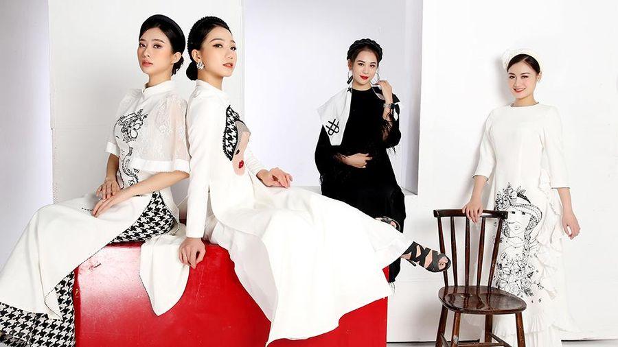 Ra mắt bộ sưu tập áo dài lấy cảm hứng từ quan họ