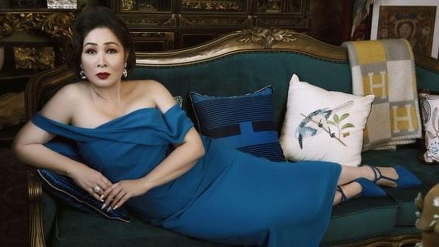 NSND Hồng Vân hóa thành 'ác nữ' trong 'Gái già lắm chiêu V'