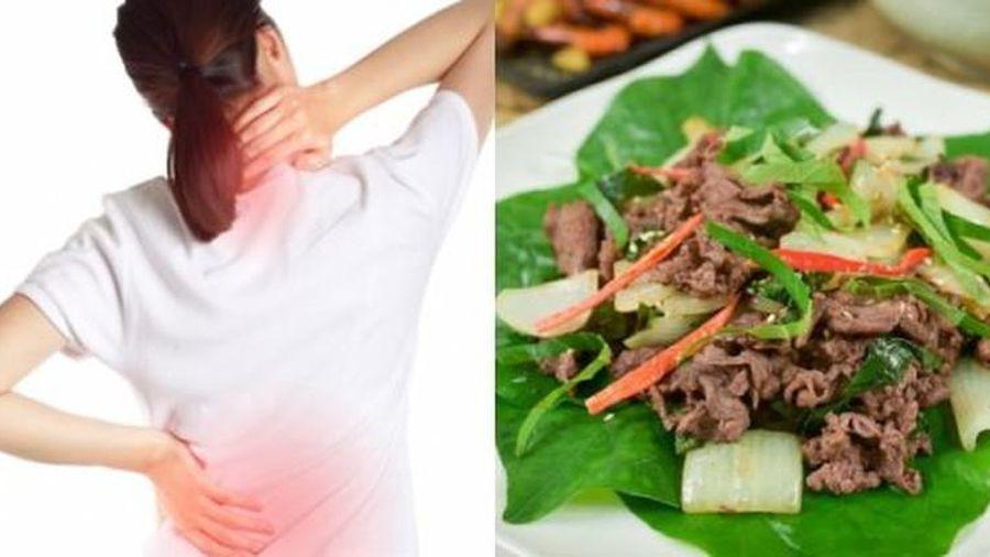 Người hay bị đau lưng hãy ăn ngay món này để khỏe người