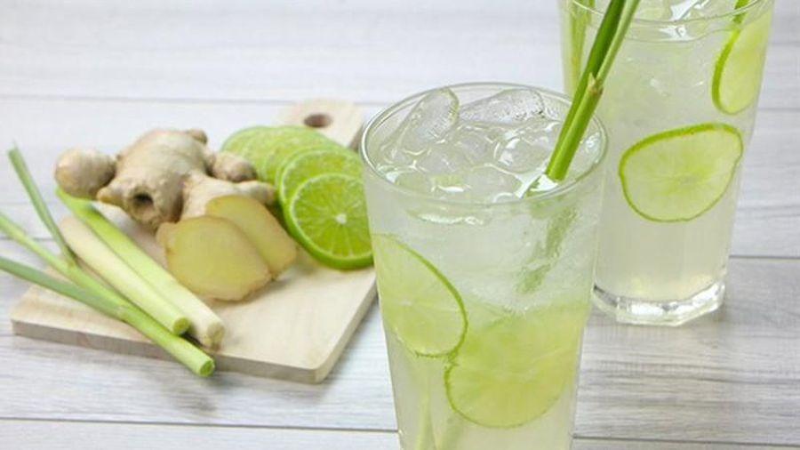Tận dụng nguyên liệu sẵn có trong bếp giúp giải rượu