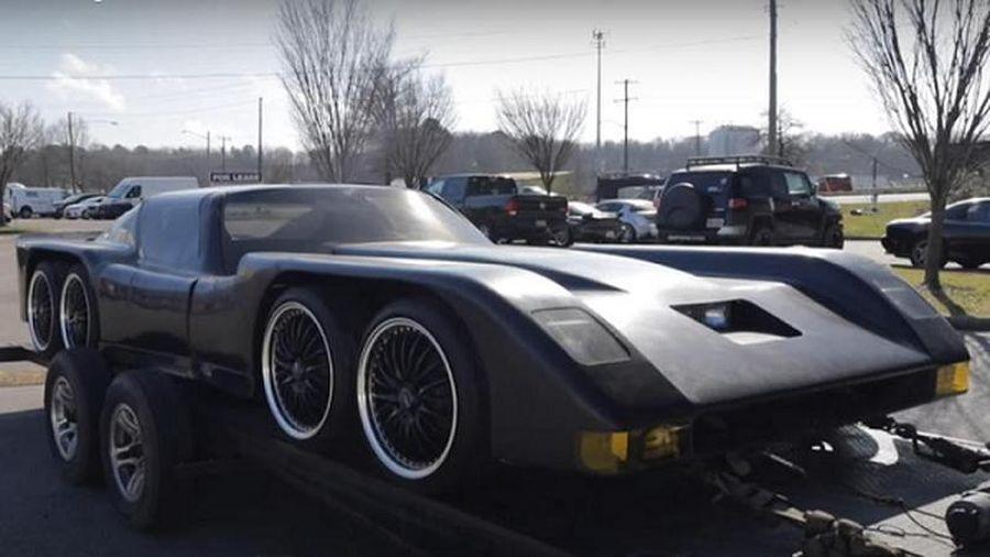 Ngắm chiếc xe Dơi 'hàng độc' thập niên 80, sở hữu tới 8 bánh