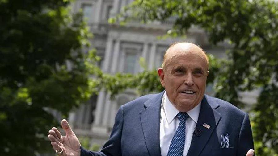 Luật sư Giuliani của ông Trump 'vui mừng' trước đơn kiện 1,3 tỉ USD từ Dominion