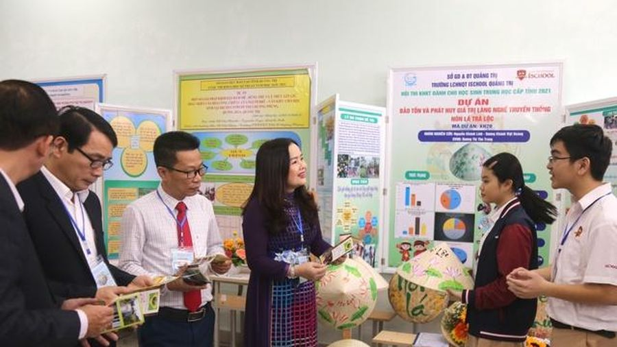 Quảng Trị: 92 dự án của học sinh THPT tranh tài tại cuộc thi Khoa học kỹ thuật