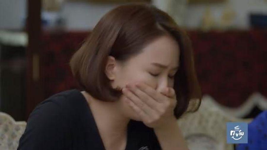 Hướng Dương Ngược Nắng trích đoạn tập 21: Châu bất ngờ 'nôn ọe', phát hiện có bầu với Kiên