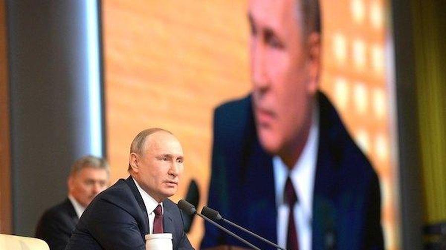 Tổng thống Putin tiết lộ dự định trong tương lai sau khi mãn nhiệm