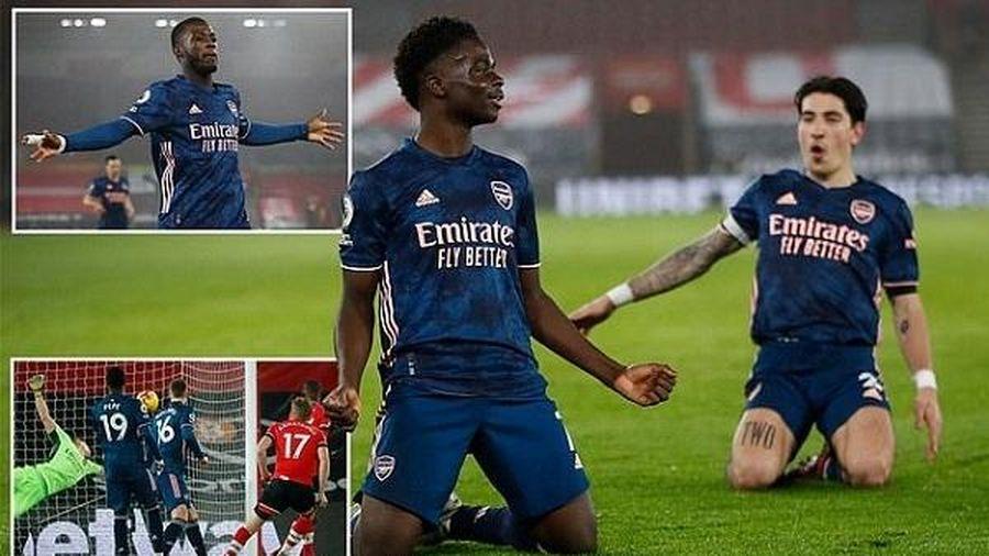 Man City 'hủy diệt' đối thủ, Arsenal 'đòi nợ' Southampton