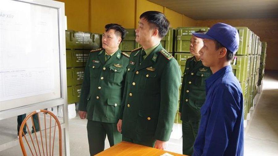 Cục Kỹ thuật BĐBP kiểm tra công tác sẵn sàng chiến đấu bảo vệ Đại hội lần thứ XIII của Đảng và Tết nguyên đán Tân Sửu