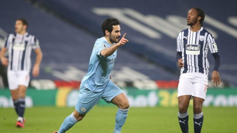 Guendogan tỏa sáng, Man City vươn lên ngôi đầu