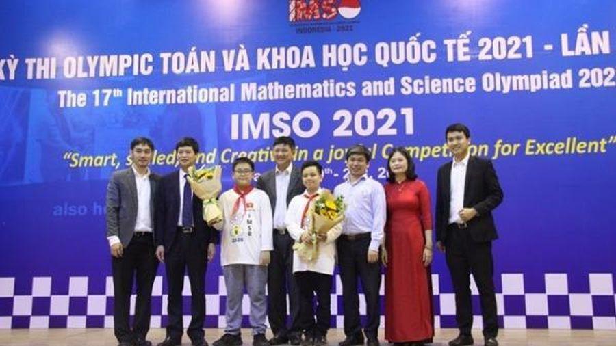 Việt Nam đạt giải cao kỳ thi Olympic Toán học và Khoa học quốc tế lần thứ 17