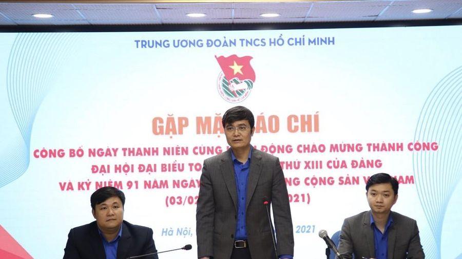 Sẽ có 91 điểm 'Thanh niên cùng hành động' chào mừng Ngày thành lập Đảng