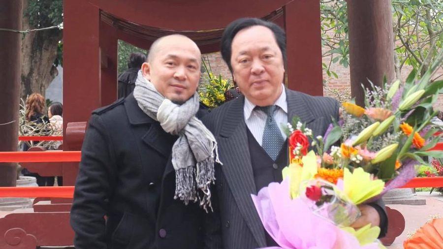 Nhạc sĩ Quốc Trung viết tâm thư tiễn biệt bố NSND Trung Kiên, nghệ sĩ tỏ lòng thương tiếc