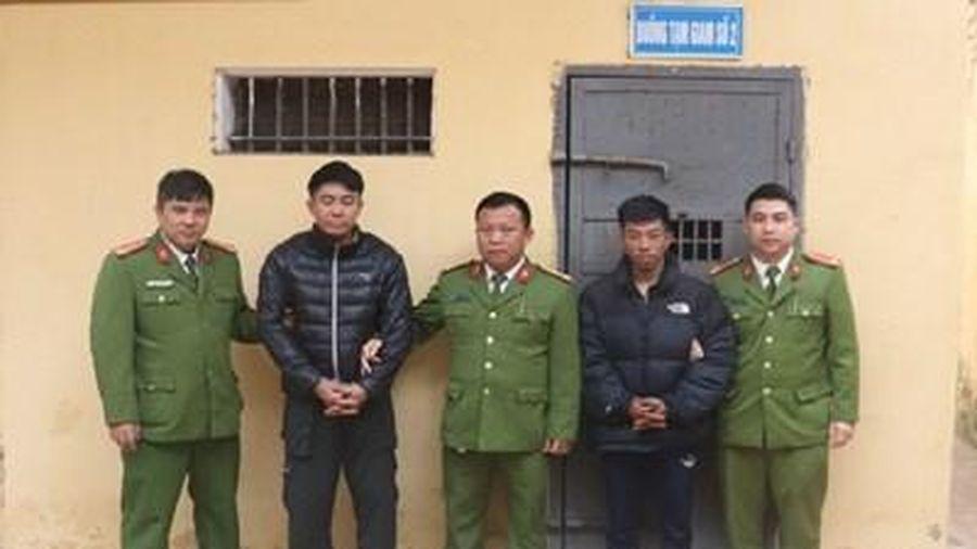 Bắt nhóm đối tượng trộm cắp dây cáp điện ở Vân Đồn
