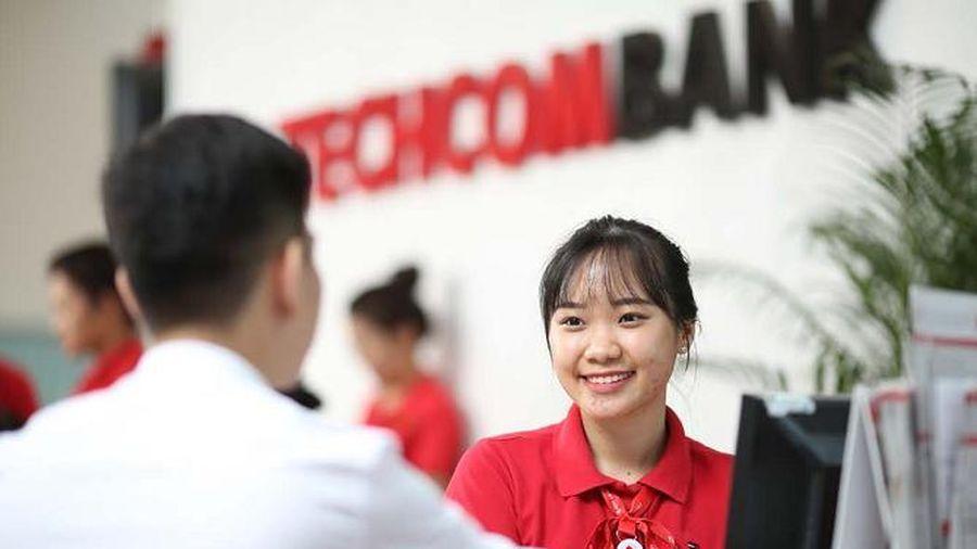 Lợi nhuận trước thuế của Techcombank đạt 15.800 tỷ đồng