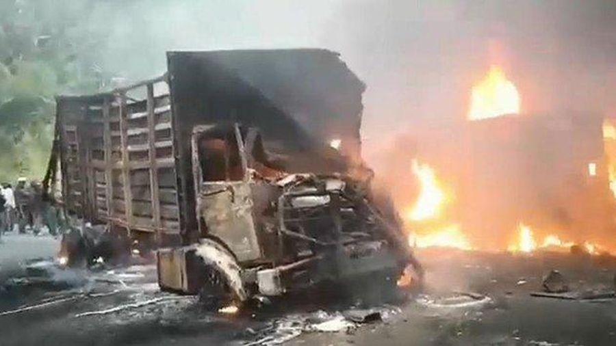 BREAKING NEWS: Cháy xe khách tại Cameroon, hơn 50 người thiệt mạng