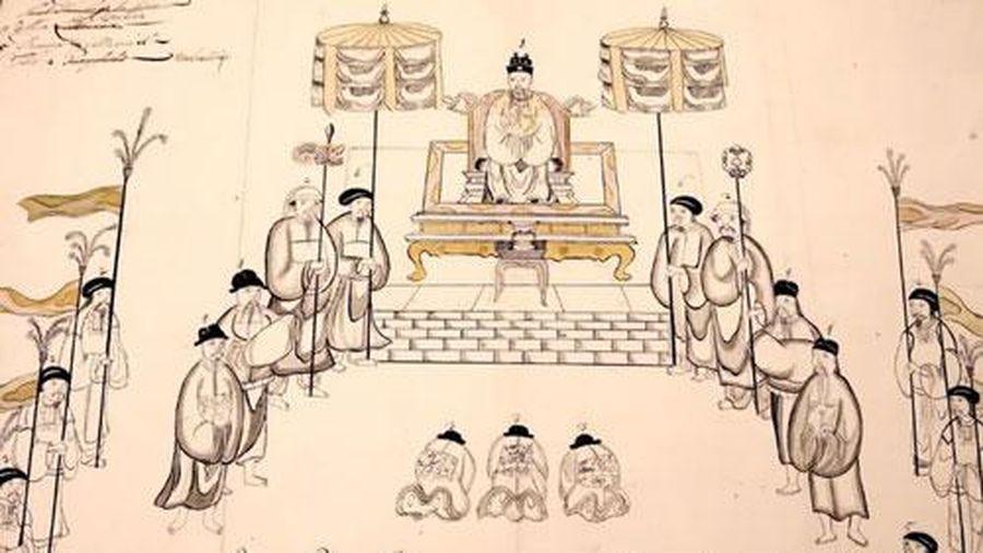 Vị vua nào lên ngôi 2 lần, có 4 vợ là người ngoại quốc?