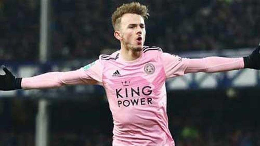 Leicester City: Vắng Vardy, đã có Maddison