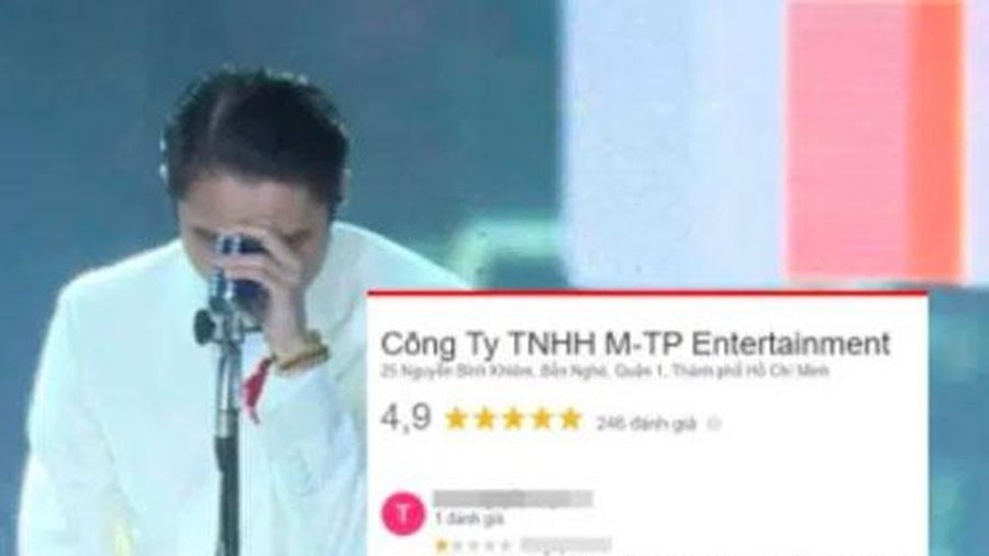 Cư dân mạng ào vào comment xấu và đánh giá 1 sao công ty giải trí của Sơn Tùng M-TP sau vụ ồn ào 'trà xanh'